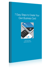 7 Easy Steps for Business Card