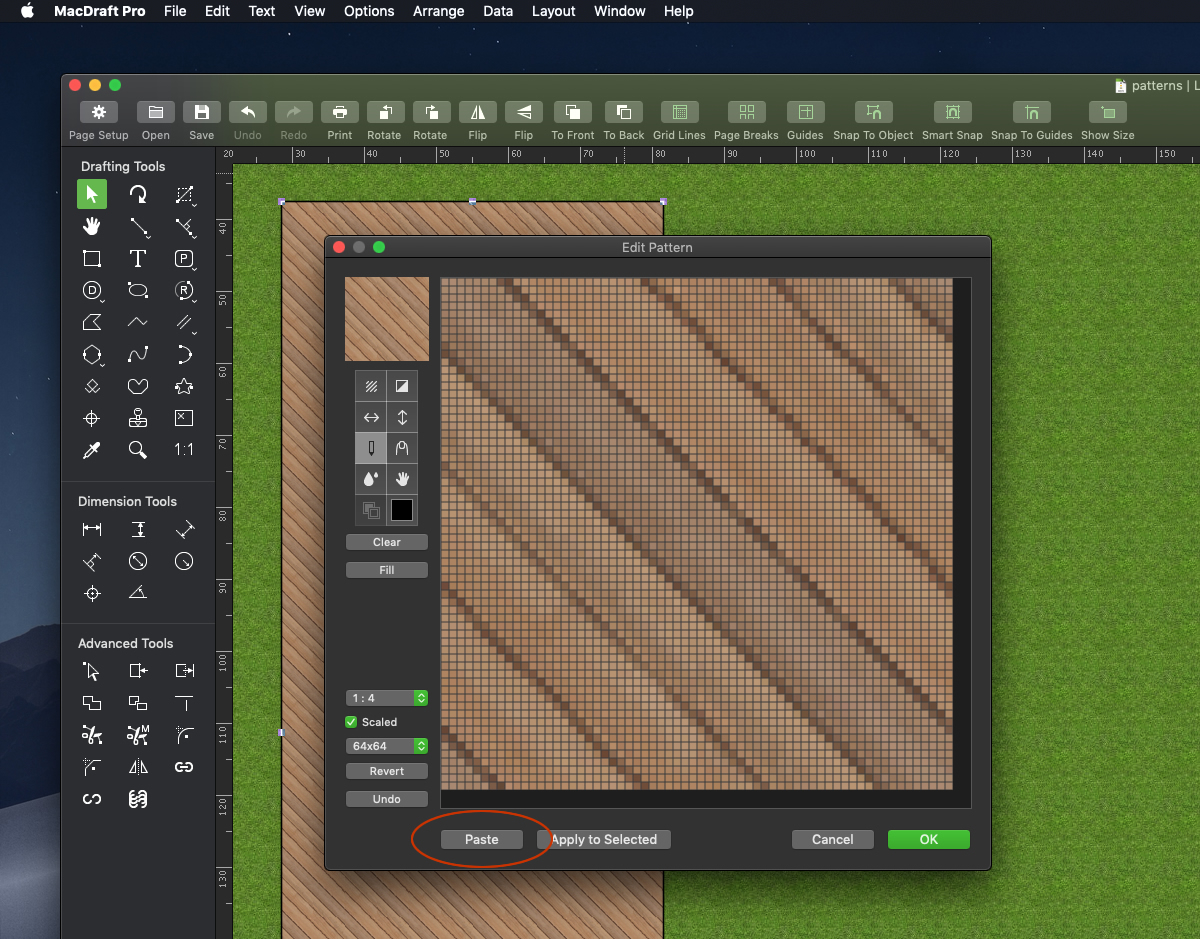 Improved Patterns: In-Depth Look | MacDraft Professional