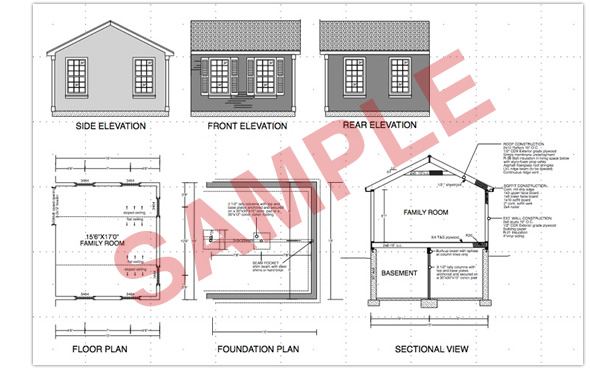 Complete home additions plans complete plans for for House foundation plan