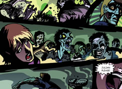 Zombie Comic Strip
