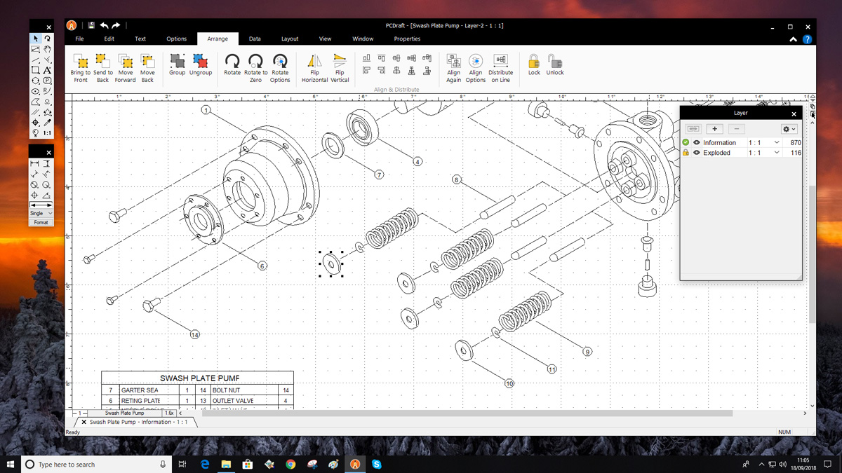 PC Draft Professional | Powerful 2D CAD, drafting, technical
