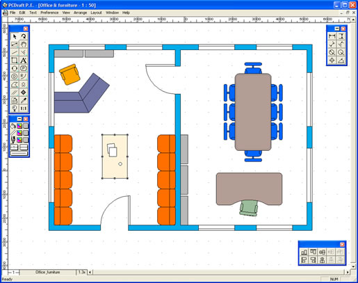 graphic design software home interiors screen shot