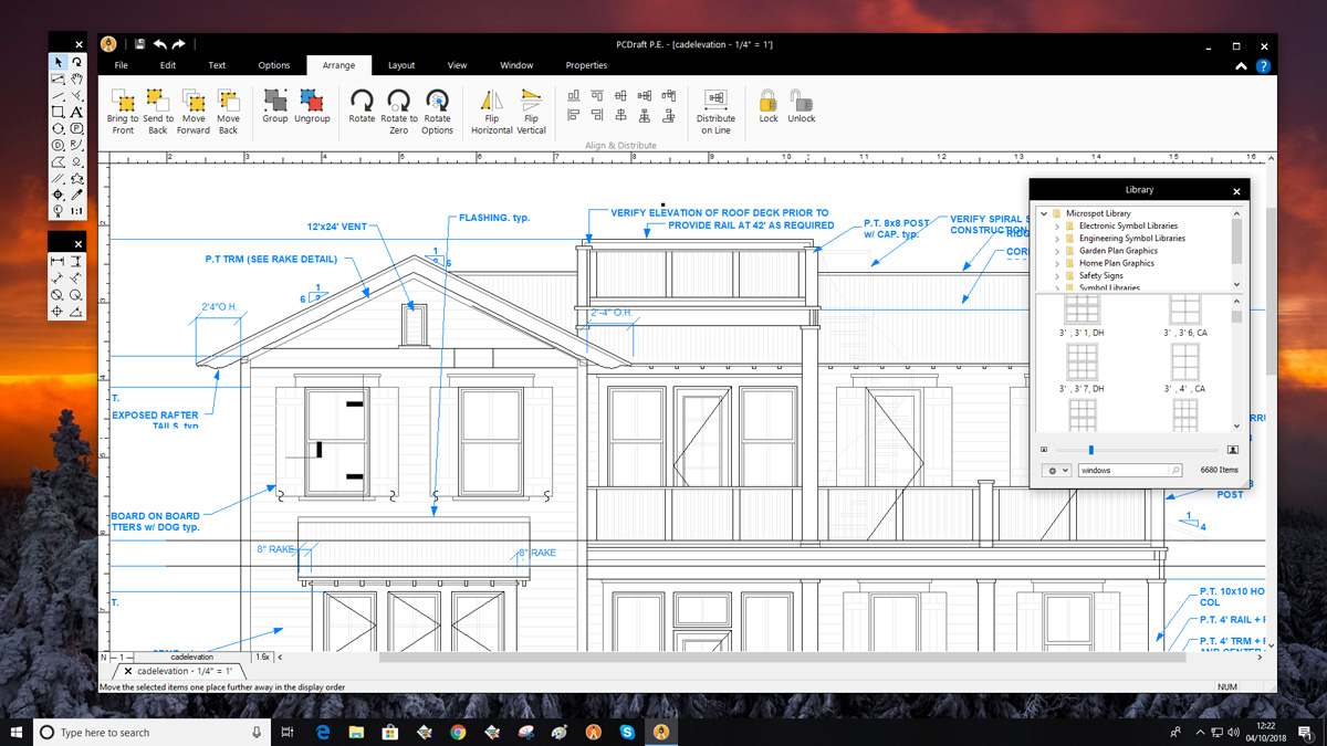 PC Draft Personal Edition | Easy to use 2D CAD, drawing
