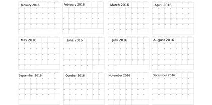 Basic-Blank-2016-Calender-Template-1