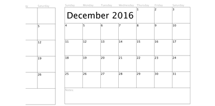 Basic-Blank-2016-Calender-Template-2