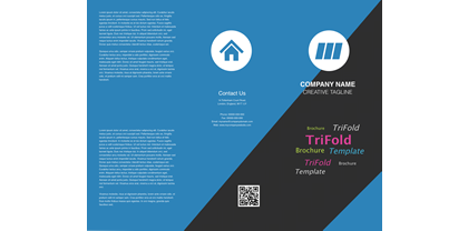 Blue-Angle-Trifold-Brochure-Template-Front