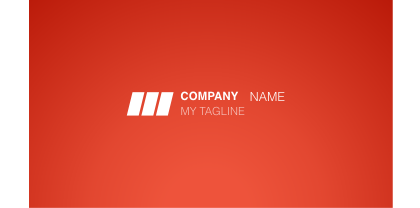 Untitled document corporate red business card template front flashek Gallery