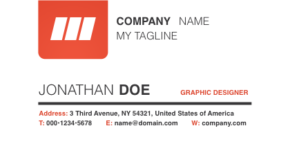 Corporate-Red-Business-Card-Template-Back