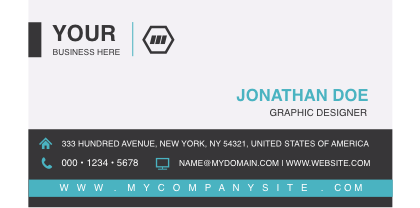 Corporate-Single-Side-Business-Card-Template-Front