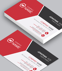 Macdraft templates templates and sample documents microspot ltd red split single side business card flashek Image collections
